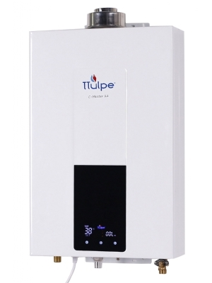 Room sealed, constant temperature, instant gas water heater,  12 LPM natural gas. (20 mbar)